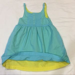 Primary Other - Primary Reversible Sundress, 2/3Y, blue/yellow