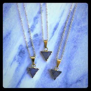 Simple Sanctuary Jewelry - Minimal Triangle Necklace!