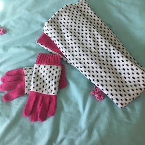 crazy 8 Other - Girls scarf and gloves