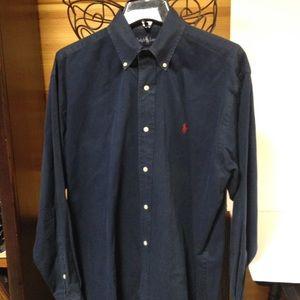 Ralph Lauren Other - Ralph Lauren polo long sleeve button navy small