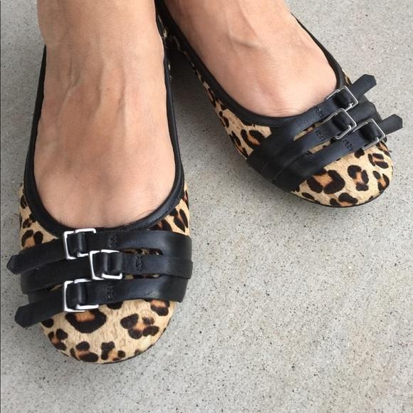 e4c4967df01 Franco Sarto Shoes - Franco Sarto Ariana leopard animal print flats