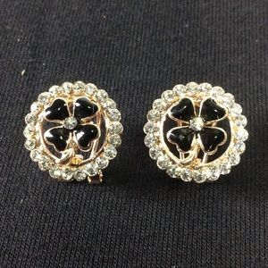 New Bling Stud Earrings