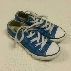 Converse Other - Blue Converse Chuck Taylor all star sneakers