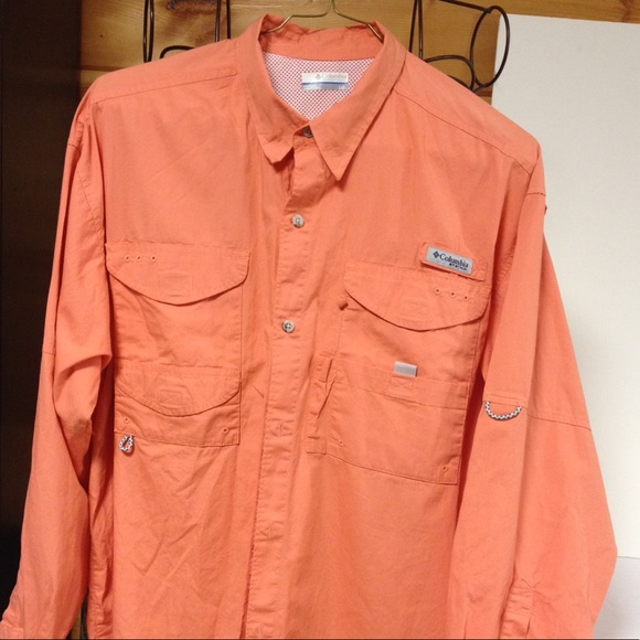 56 off columbia other columbia performance fishing gear for Button down fishing shirts