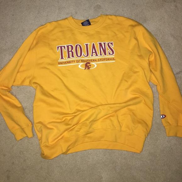 best service 8680d 7663d Vintage USC Trojans Sweater