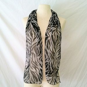 Vintage Accessories - SHEER Head/Neck Scarf