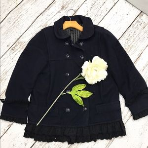 Marc by Marc Jacobs Jackets & Blazers - 💕SALE💕Marc Jacobs Navy With Black Lace Coat