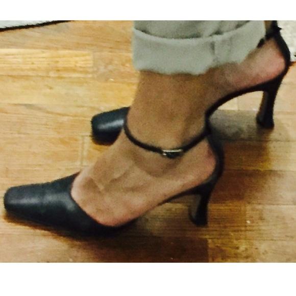 Shoes | Vintage San Marino By Prestige Black Heel | Poshmark