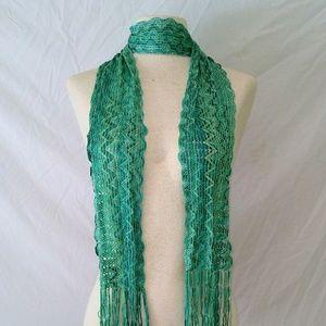 SKINNY Silky Weave Scarf