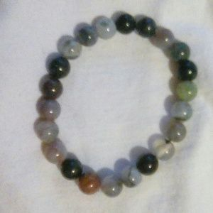 Jewelry - ONE DAY SALE! Indian Agate Bead Bracelet
