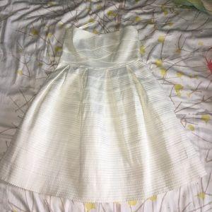 White/ivory dress