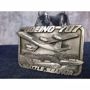 Vintage Accessories - BOEING 707 SEATTLE SEAFAIR LIMITED EDITION BUCKLE!