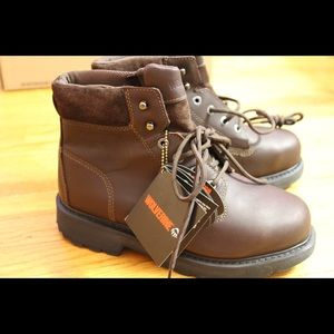 """Wolverine Other - Wolverine Cannonsburg Steel-Toe EH 6"""" Work Boots"""