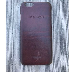 Shinola Accessories - Shinola iPhone 6/6S Leather Case