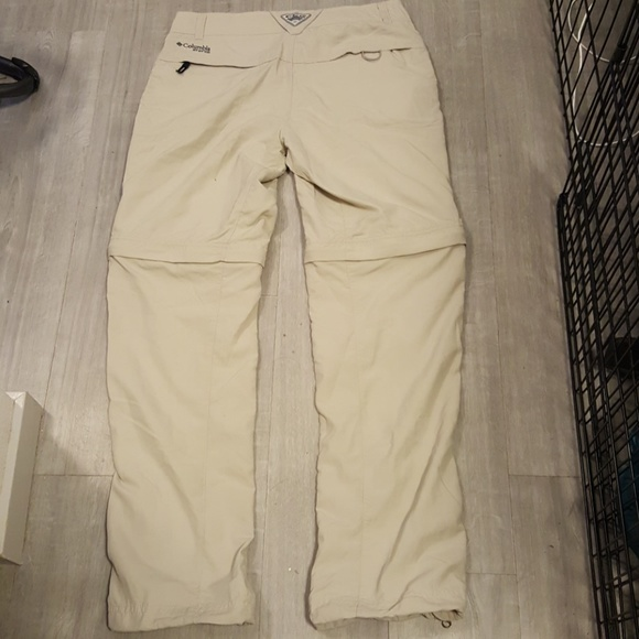 69 off columbia pants nwot columbia pfg convertible for Columbia fishing shorts