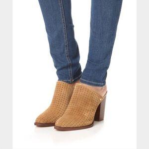 Sam Edelman Shoes - NWOB SZ 8 Sam Edelmaan Bates Perforated suede mule