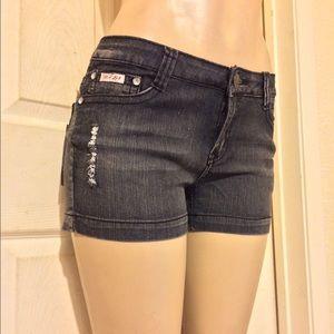 *NWT Dark Denim Shorts