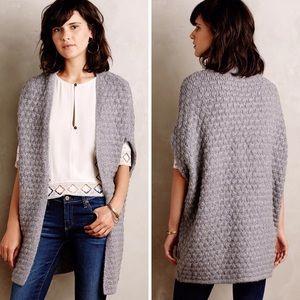 Anthropologie Popcorn Stitch Sweater Vest
