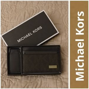 Michael Kors Other - NWT Michael Kors Money-Clip Card Case