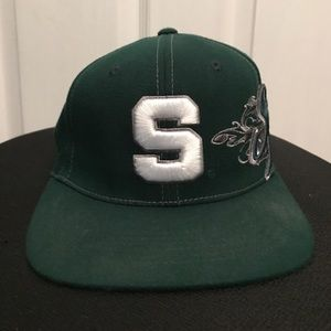 Top of the World Other - SALE‼️M/L fitted MSU Spartans hat