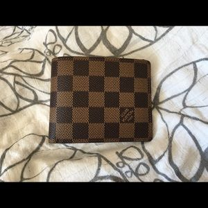 Men's Louis Vuitton Damier Wallet