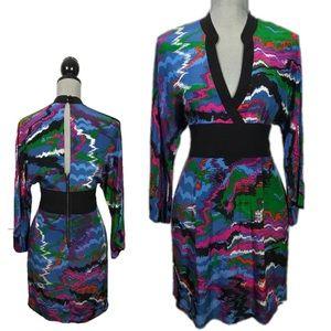 PLENTY BY TRACY REESE Silk Printed Dress Size 8