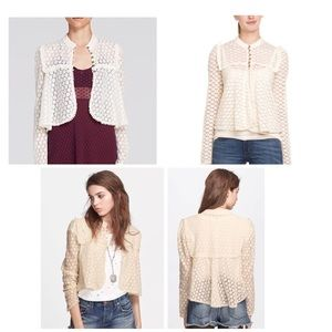 Free People 'Better Together' Lace Top