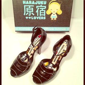 Harajuku Lovers Shoes - Harajuku Lovers Platform Pumps♥️🖤♥️