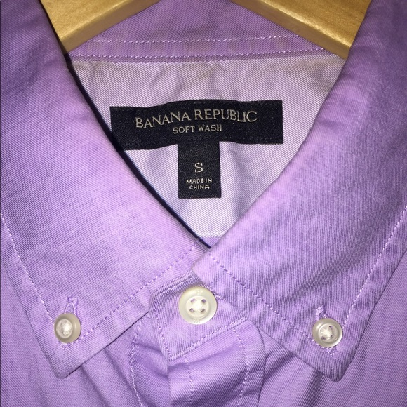 Squishy Purple Banana 25 : 61% off Banana Republic Other - Purple Banana Republic Soft Wash Shirt from Valente s closet on ...