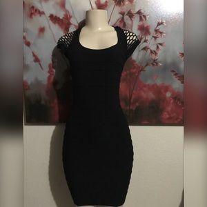 Dresses & Skirts - Black bandage dress one size