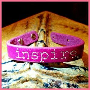 """Jessica Elliot Jewelry - 🌻 NWT """"inspire"""" Leather Bracelet"""