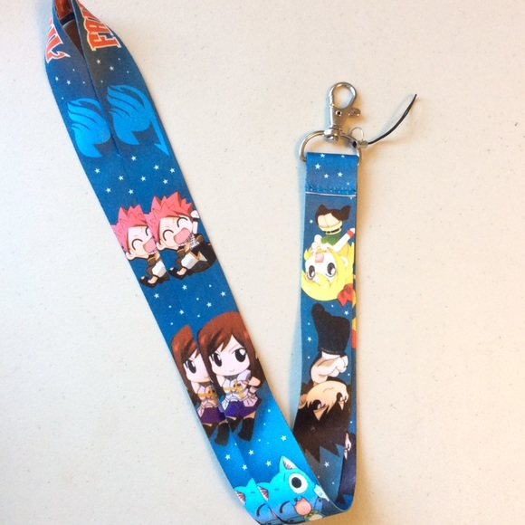 NEW Fairy Tail Anime Cute Fashion Keychain Lanyard OS from ...