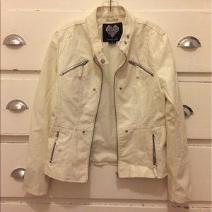 brave soul Jackets & Blazers - White Brave Soul jacket