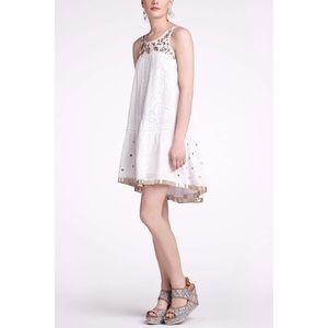 Leifnotes Eyelet Aurelie Shift Dress