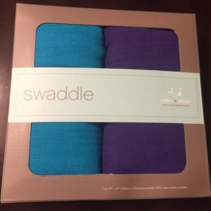 aden + anais Other - Aden & Anais Solid Color Muslin Swaddle Blankets!!