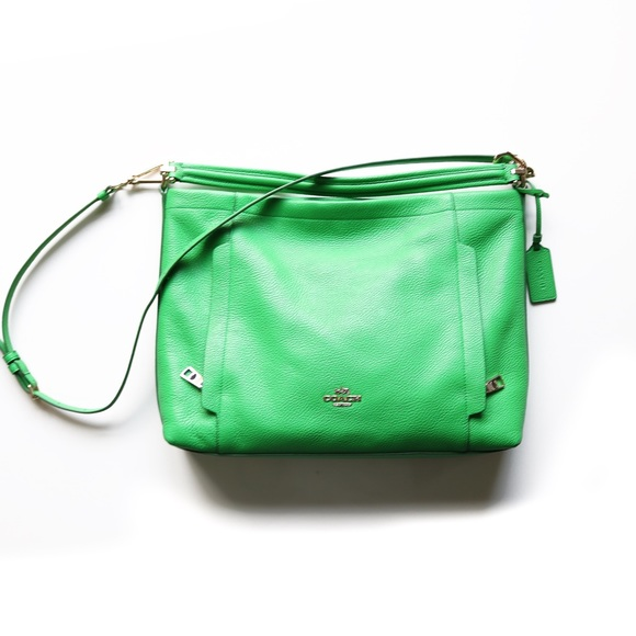 50% off Coach Handbags - Coach Lime Green Hobo from Jessika's ...