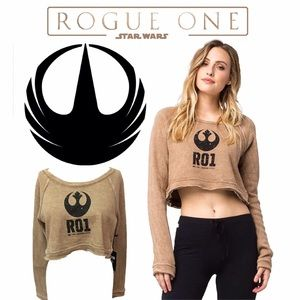Neff Tops - NEW~ NEFF x Disney Star Wars: Rouge One Raglan