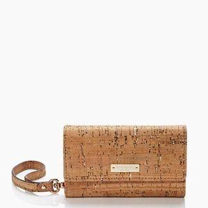 kate spade Handbags - Kate Spade Summer Cork wristlet iPhone 5 case