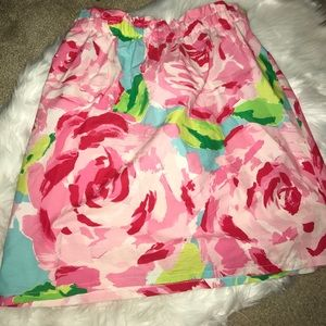 Handmade Lilly Pulitzer skirt.