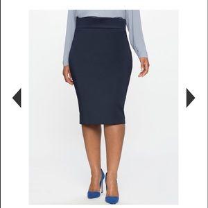 Eloquii Dresses & Skirts - ❤️NWT Neoprene Navy Pencil Skirt from ELOQUII❤️
