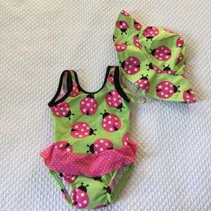 I Play Other - Ladybug swim set