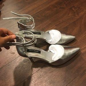 Whitehouseblackmaket silver heels