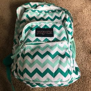 Jansport Handbags - Chevron print JanSport backpack!