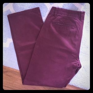 Bonobos Other - Bonobos 32x30 cranberry red washed chinos straight