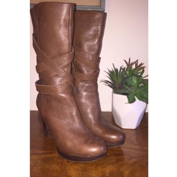 76 ugg shoes ugg australia jardin brown leather