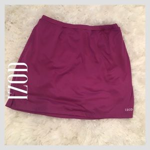 Izod Pants - IZOD Cool FX Purple/Magenta Sport Skort -Good Used