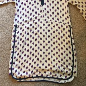 LAmade Dresses - 3/4 sleeve cream patterned dress