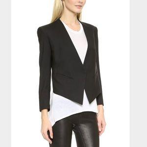 Helmut Lang Jackets & Blazers - Helmut Lang Asymmetric Cropped Jacket