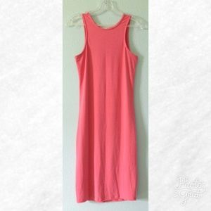 Dresses & Skirts - Coral Sleeveless Midi Dress