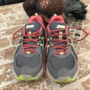 Asics trail shoes. Size 6 1/5.